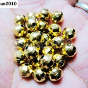 100Pcs-22K-Gold-Vacuum-Plated-Over-Copper-Faceted-Round-Beads-4mm-5mm-6mm-8mm-281042607795-3
