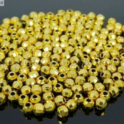 100Pcs-22K-Gold-Vacuum-Plated-Over-Copper-Faceted-Round-Beads-4mm-5mm-6mm-8mm-281042607795-3d2d