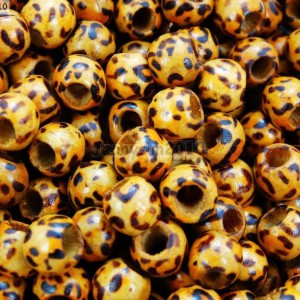 100Pcs-Big-Hole-Light-Wood-Animal-Print-Leopard-Patterned-Round-Beads-10mm-261216067322