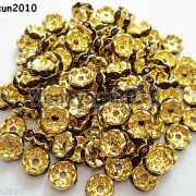 100Pcs-Czech-Crystal-Rhinestone-Wavy-Rondelle-Spacer-Beads-4mm-5mm-6mm-8mm-10mm-251089093224-04e3