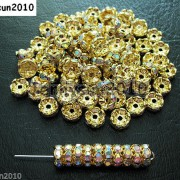 100Pcs-Czech-Crystal-Rhinestone-Wavy-Rondelle-Spacer-Beads-4mm-5mm-6mm-8mm-10mm-251089093224-5a56