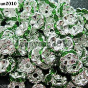 100Pcs-Czech-Crystal-Rhinestone-Wavy-Rondelle-Spacer-Beads-4mm-5mm-6mm-8mm-10mm-251089093224-949c
