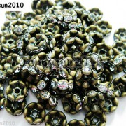 100Pcs-Czech-Crystal-Rhinestone-Wavy-Rondelle-Spacer-Beads-4mm-5mm-6mm-8mm-10mm-251089093224-bee0