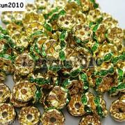 100Pcs-Czech-Crystal-Rhinestone-Wavy-Rondelle-Spacer-Beads-4mm-5mm-6mm-8mm-10mm-251089093224-d001