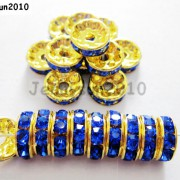 100Pcs-Czech-Crystal-Rhinestones-Gold-Rondelle-Spacer-Beads-4mm-5mm-6mm-8mm-10mm-261044485528-ee2e