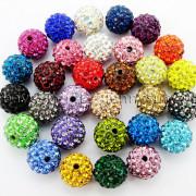 100Pcs-Premium-Czech-Crystal-Rhinestones-Pave-Clay-Round-Disco-Ball-Spacer-Beads-282047949492