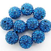 100Pcs-Premium-Czech-Crystal-Rhinestones-Pave-Clay-Round-Disco-Ball-Spacer-Beads-282047949492-19cf