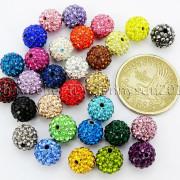100Pcs-Premium-Czech-Crystal-Rhinestones-Pave-Clay-Round-Disco-Ball-Spacer-Beads-282047949492-2