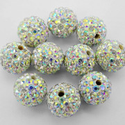 100Pcs-Premium-Czech-Crystal-Rhinestones-Pave-Clay-Round-Disco-Ball-Spacer-Beads-282047949492-24af