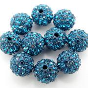 100Pcs-Premium-Czech-Crystal-Rhinestones-Pave-Clay-Round-Disco-Ball-Spacer-Beads-282047949492-2c58