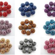 100Pcs-Premium-Czech-Crystal-Rhinestones-Pave-Clay-Round-Disco-Ball-Spacer-Beads-282047949492-3