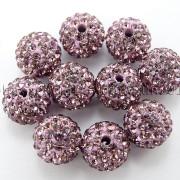 100Pcs-Premium-Czech-Crystal-Rhinestones-Pave-Clay-Round-Disco-Ball-Spacer-Beads-282047949492-734c