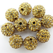 100Pcs-Premium-Czech-Crystal-Rhinestones-Pave-Clay-Round-Disco-Ball-Spacer-Beads-282047949492-79a0