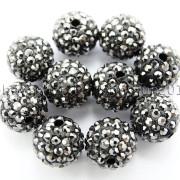 100Pcs-Premium-Czech-Crystal-Rhinestones-Pave-Clay-Round-Disco-Ball-Spacer-Beads-282047949492-ce46