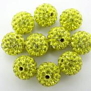 100Pcs-Premium-Czech-Crystal-Rhinestones-Pave-Clay-Round-Disco-Ball-Spacer-Beads-282047949492-e14f