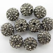 100Pcs-Premium-Czech-Crystal-Rhinestones-Pave-Clay-Round-Disco-Ball-Spacer-Beads-282047949492-febe