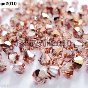 100Pcs-Top-Quality-Czech-Crystal-Bicone-Beads-Exclusive-3mm-4mm-Capri-Gold-251100426821