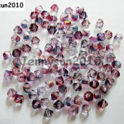 100Pcs-Top-Quality-Czech-Crystal-Bicone-Beads-Exclusive-3mm-4mm-Pomegranate-261142515670-4759