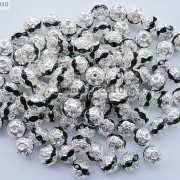 100pcs-Czech-Crystal-Rhinestones-Pave-Diamante-Round-Spacer-Beads-6mm-8mm-10mm-251087497248-2208