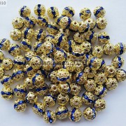 100pcs-Czech-Crystal-Rhinestones-Pave-Diamante-Round-Spacer-Beads-6mm-8mm-10mm-251087497248-362d