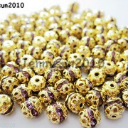 100pcs-Czech-Crystal-Rhinestones-Pave-Diamante-Round-Spacer-Beads-6mm-8mm-10mm-251087497248-5fda