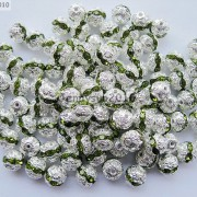 100pcs-Czech-Crystal-Rhinestones-Pave-Diamante-Round-Spacer-Beads-6mm-8mm-10mm-251087497248-ab36