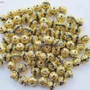 100pcs-Czech-Crystal-Rhinestones-Pave-Diamante-Round-Spacer-Beads-6mm-8mm-10mm-251087497248-eb53