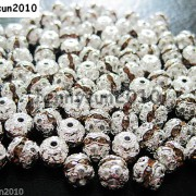100pcs-Czech-Crystal-Rhinestones-Pave-Diamante-Round-Spacer-Beads-6mm-8mm-10mm-251087497248-fca0