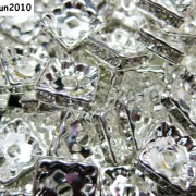 100pcs-Czech-Crystal-Rhinestones-Squaredelle-Spacer-Beads-5mm-6mm-8mm-10mm-Pick-251083654353-2