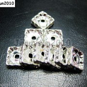 100pcs-Czech-Crystal-Rhinestones-Squaredelle-Spacer-Beads-5mm-6mm-8mm-10mm-Pick-251083654353-3
