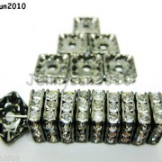 100pcs-Czech-Crystal-Rhinestones-Squaredelle-Spacer-Beads-5mm-6mm-8mm-10mm-Pick-251083654353-3313