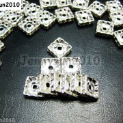 100pcs-Czech-Crystal-Rhinestones-Squaredelle-Spacer-Beads-5mm-6mm-8mm-10mm-Pick-251083654353-4