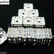 100pcs-Czech-Crystal-Rhinestones-Squaredelle-Spacer-Beads-5mm-6mm-8mm-10mm-Pick-251083654353-6b23