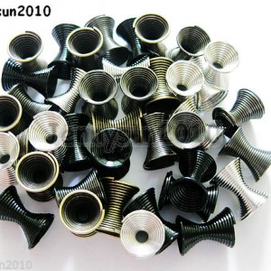 100pcs-Metal-Hourglass-Loose-Spacer-Beads-9mmx-11mm-Silver-Gunmetal-Black-Bronze-261051730214