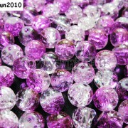 100pcs-Smooth-Crackled-Glass-Round-Spacer-Loose-Beads-8mm-10mm-Jewelry-Cafts-261043489291-2712