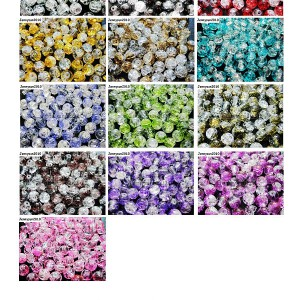 100pcs-Smooth-Crackled-Glass-Round-Spacer-Loose-Beads-8mm-10mm-Jewelry-Cafts-261043489291