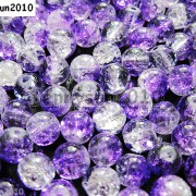 100pcs-Smooth-Crackled-Glass-Round-Spacer-Loose-Beads-8mm-10mm-Jewelry-Cafts-261043489291-aa5a