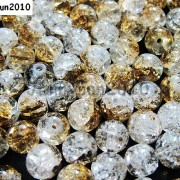 100pcs-Smooth-Crackled-Glass-Round-Spacer-Loose-Beads-8mm-10mm-Jewelry-Cafts-261043489291-b007