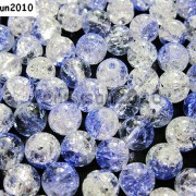 100pcs-Smooth-Crackled-Glass-Round-Spacer-Loose-Beads-8mm-10mm-Jewelry-Cafts-261043489291-bd7a