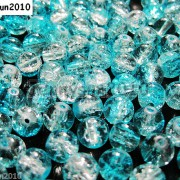 100pcs-Smooth-Crackled-Glass-Round-Spacer-Loose-Beads-8mm-10mm-Jewelry-Cafts-261043489291-be7a