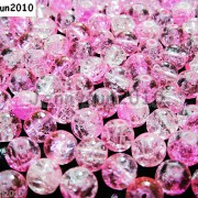 100pcs-Smooth-Crackled-Glass-Round-Spacer-Loose-Beads-8mm-10mm-Jewelry-Cafts-261043489291-e637