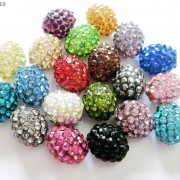 10Pcs-Crystal-Glass-Rhinestones-Pave-Egg-Shaped-Bracelet-Connector-Charm-Beads-370916388257