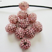 10Pcs-Crystal-Glass-Rhinestones-Pave-Egg-Shaped-Bracelet-Connector-Charm-Beads-370916388257-7cce