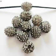 10Pcs-Crystal-Glass-Rhinestones-Pave-Egg-Shaped-Bracelet-Connector-Charm-Beads-370916388257-e012