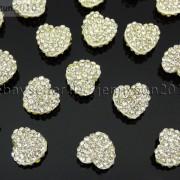 10Pcs-Crystal-Glass-Rhinestones-Pave-Flat-Heart-Bracelet-Connector-Charm-Beads-370920716184-0437