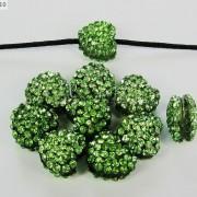 10Pcs-Crystal-Glass-Rhinestones-Pave-Flat-Heart-Bracelet-Connector-Charm-Beads-370920716184-0cee