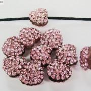 10Pcs-Crystal-Glass-Rhinestones-Pave-Flat-Heart-Bracelet-Connector-Charm-Beads-370920716184-32e0