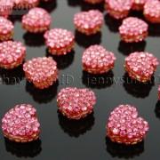 10Pcs-Crystal-Glass-Rhinestones-Pave-Flat-Heart-Bracelet-Connector-Charm-Beads-370920716184-5c51