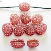 10Pcs-Crystal-Glass-Rhinestones-Pave-Oval-Bracelet-Connector-Charm-Beads-12x14mm-261302136914-3a49