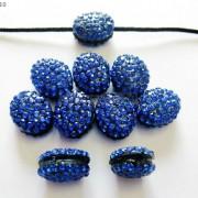 10Pcs-Crystal-Glass-Rhinestones-Pave-Oval-Bracelet-Connector-Charm-Beads-12x14mm-261302136914-4e40